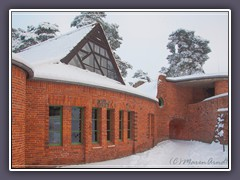 Cafe Worpswede im Winter